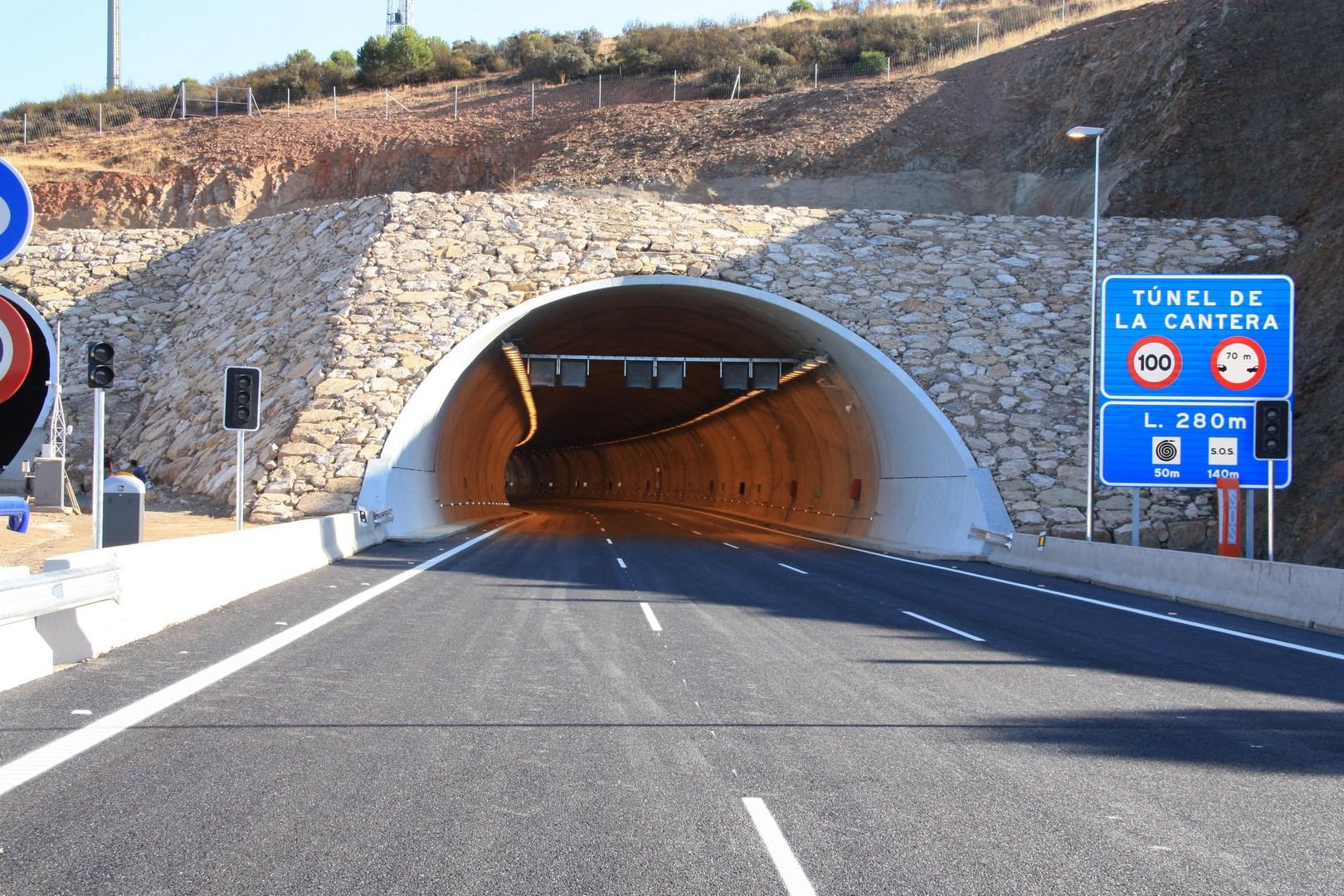 Túnel cantera