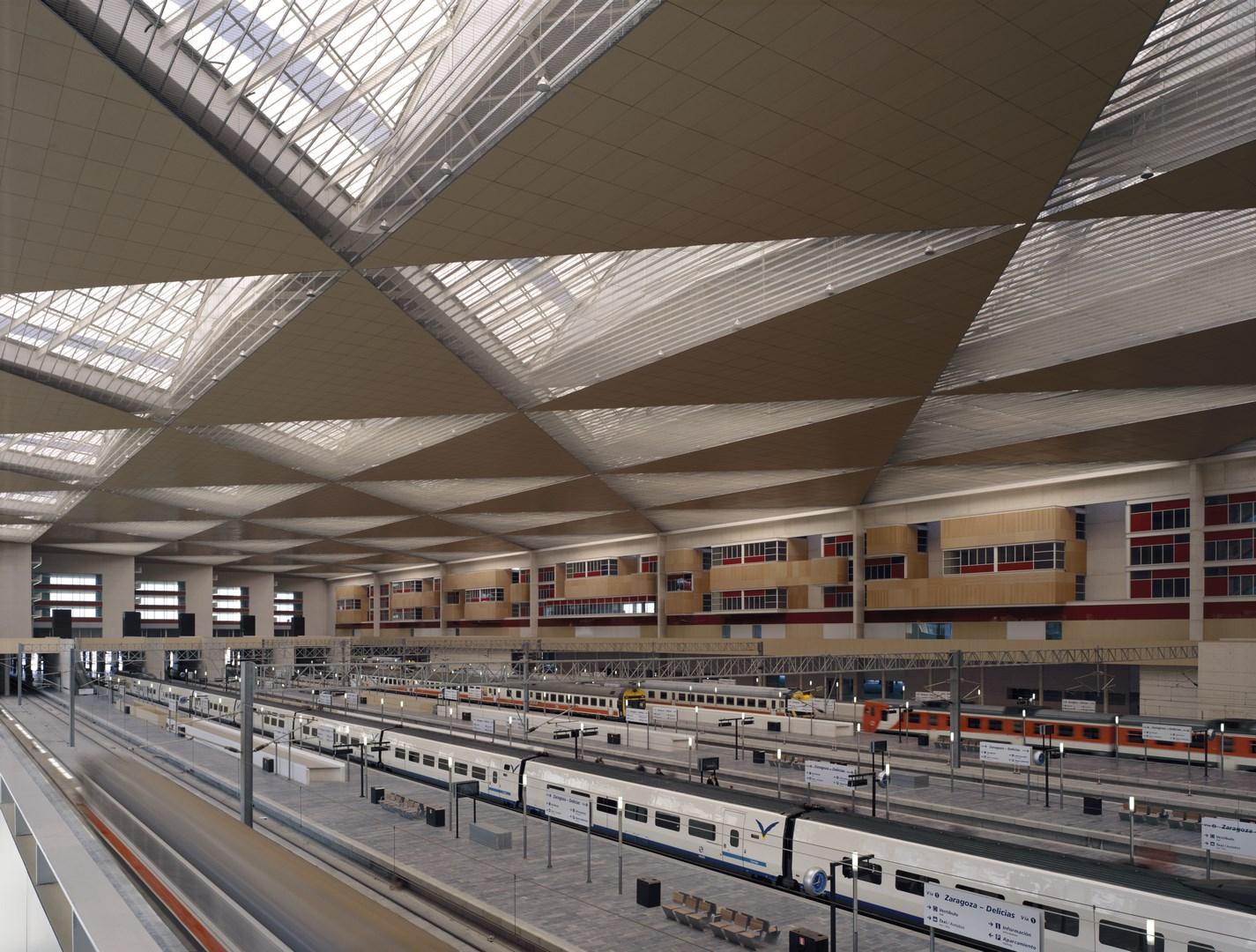 Tren estación