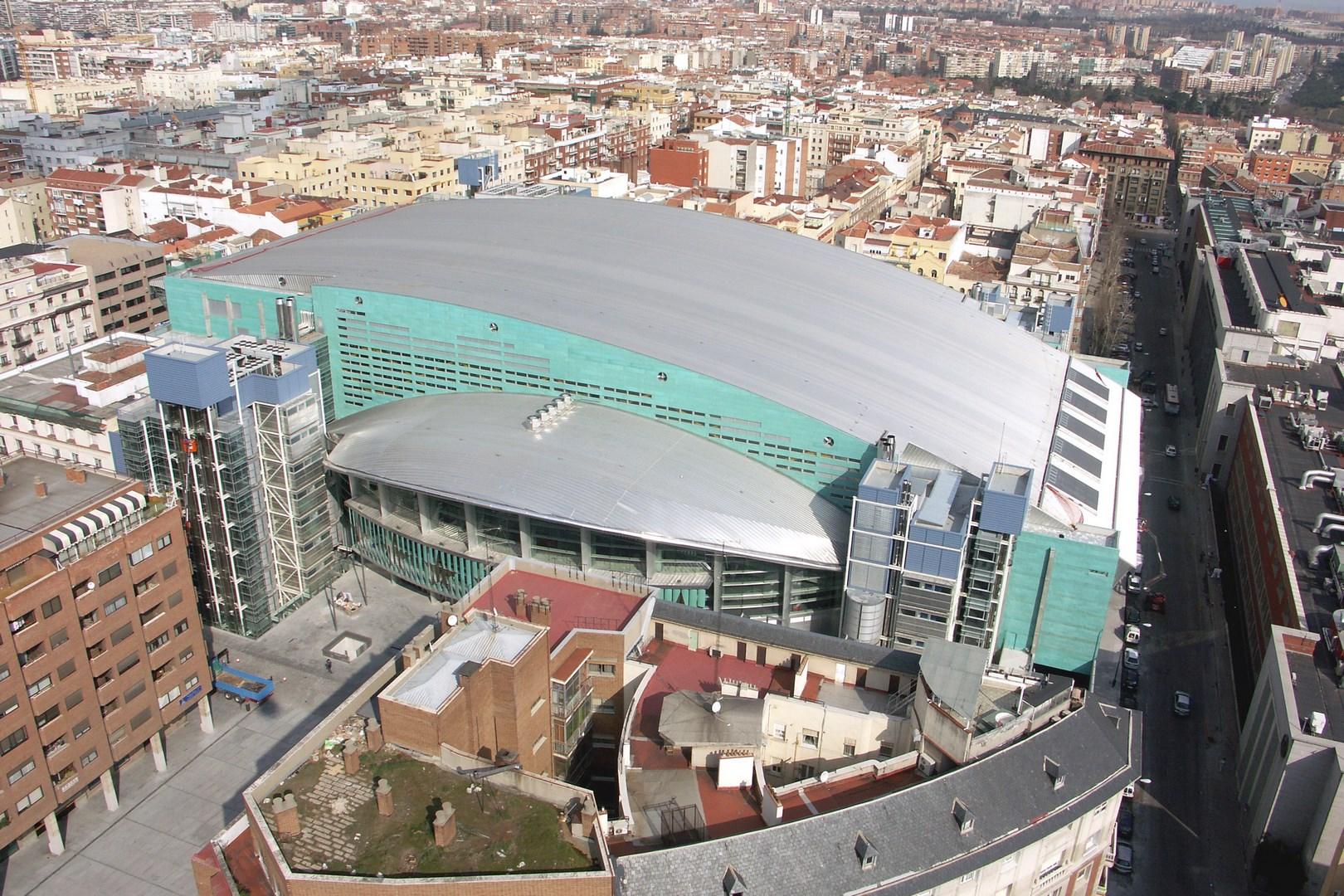 Palacio de Deportes in the Regional Community of Madrid