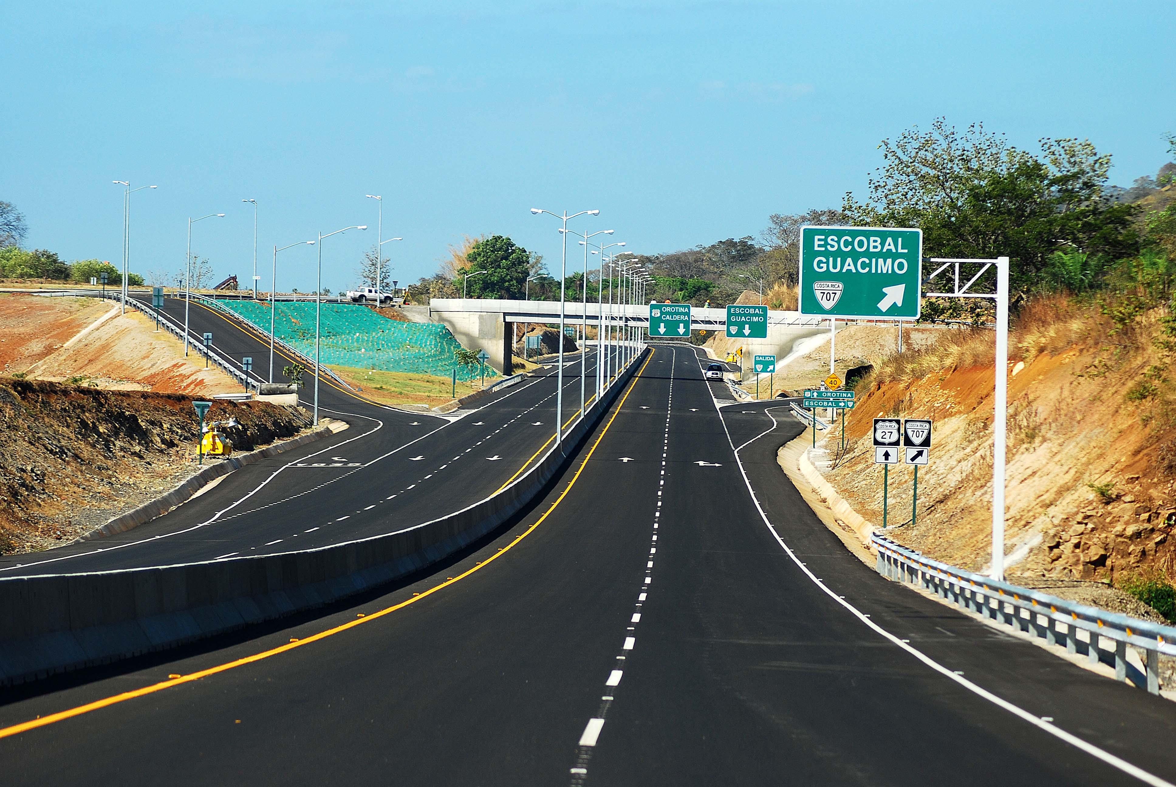 San Jose - Caldera Motorway