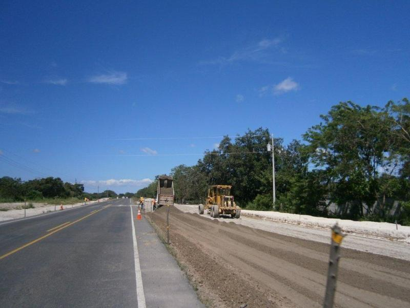 Cañas-Liberia Highway construction