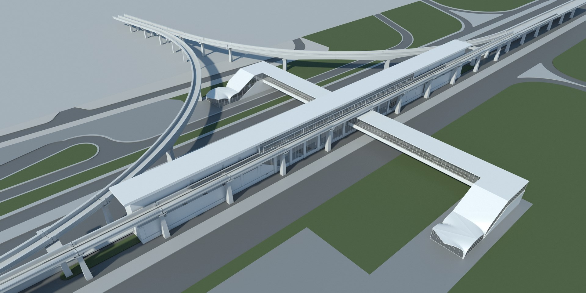 Infografía vista aérea pasarela y viaducto (1)