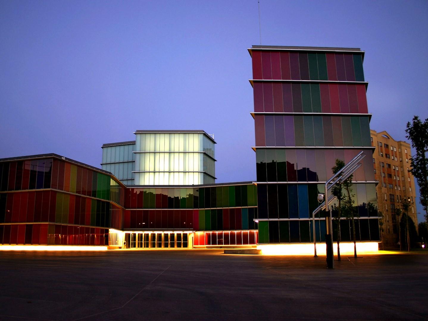 Illuminated façade