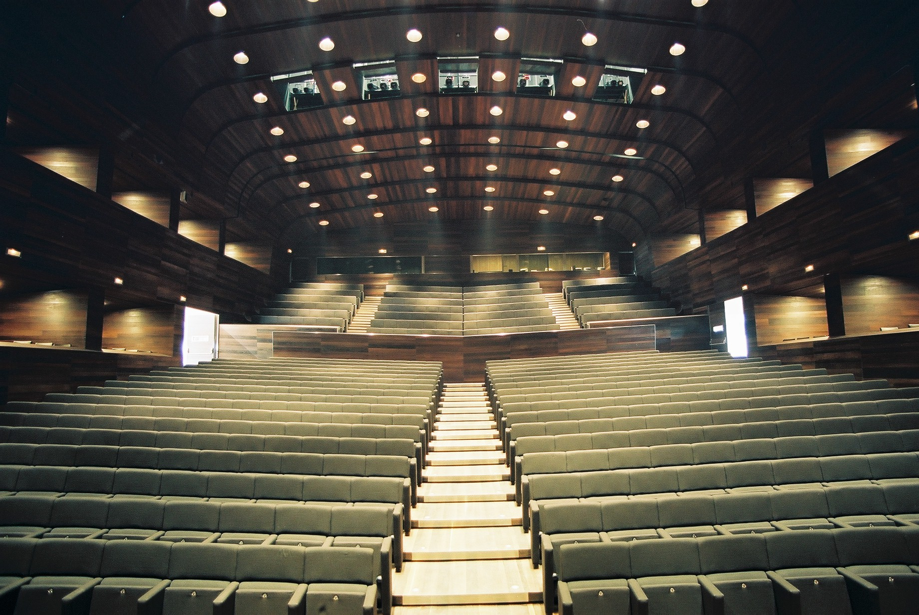 Concert Hall from the stage