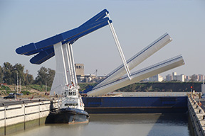 Port of Seville lock system