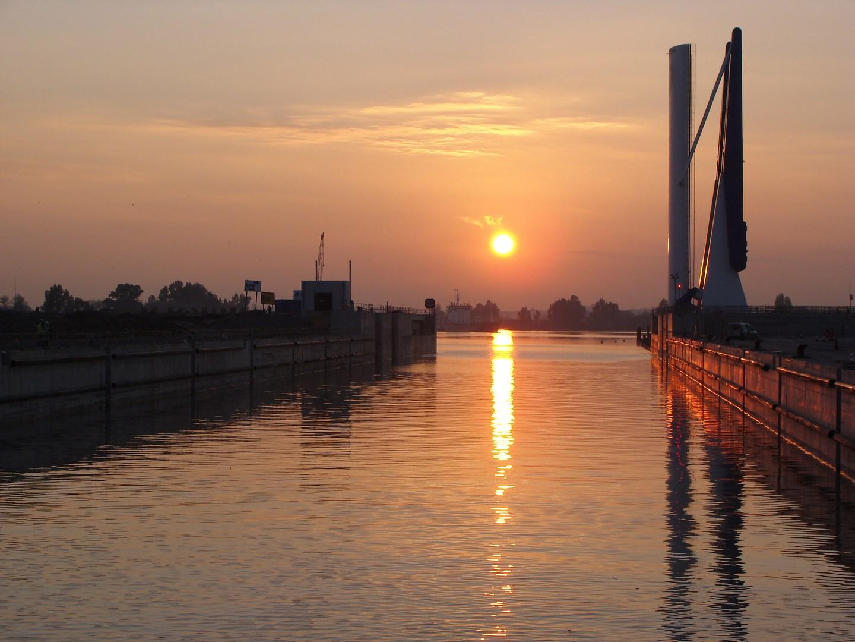 Puente izado