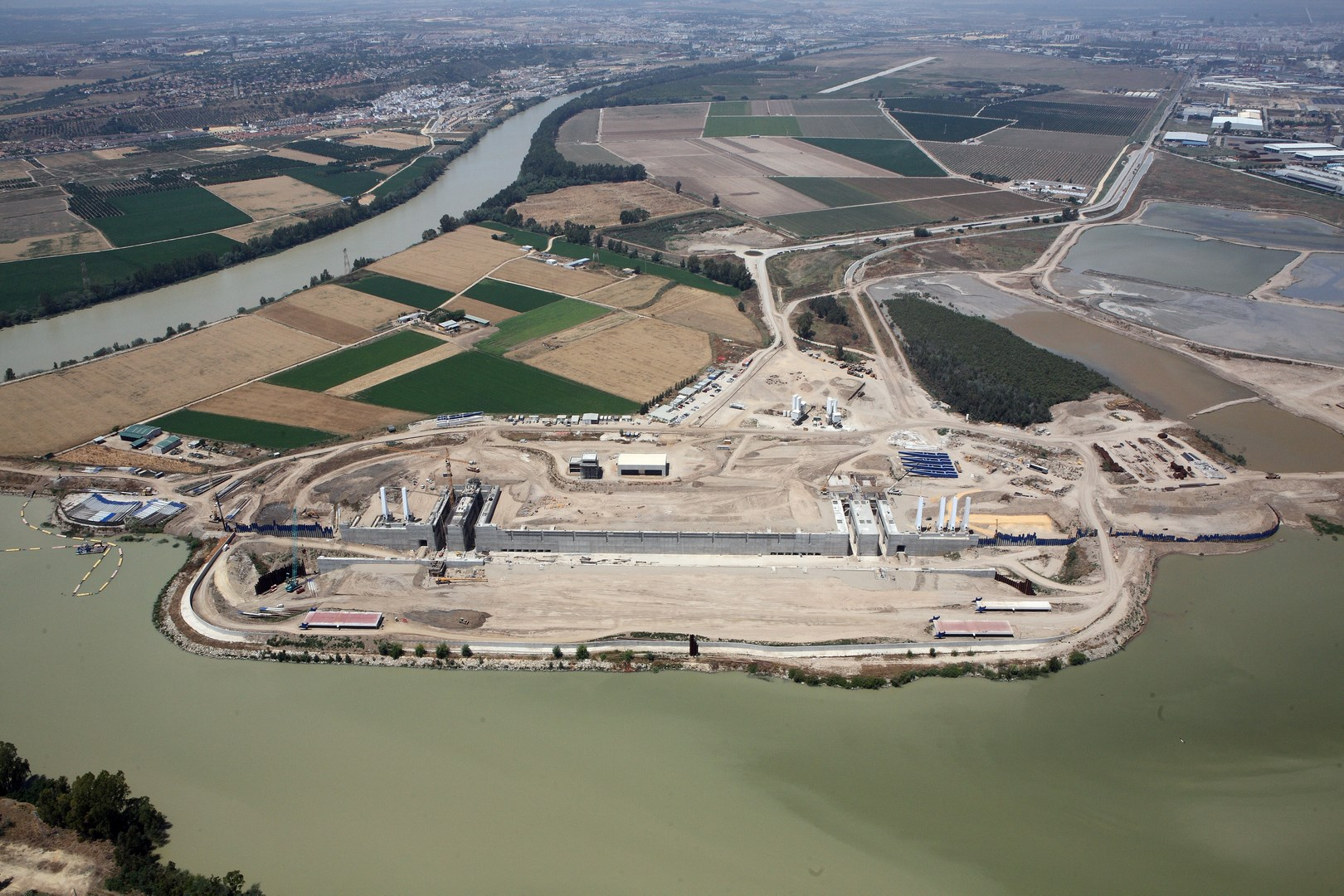 Vista aérea Junio 2009