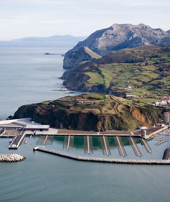 The Laredo Recreational Port in Santander