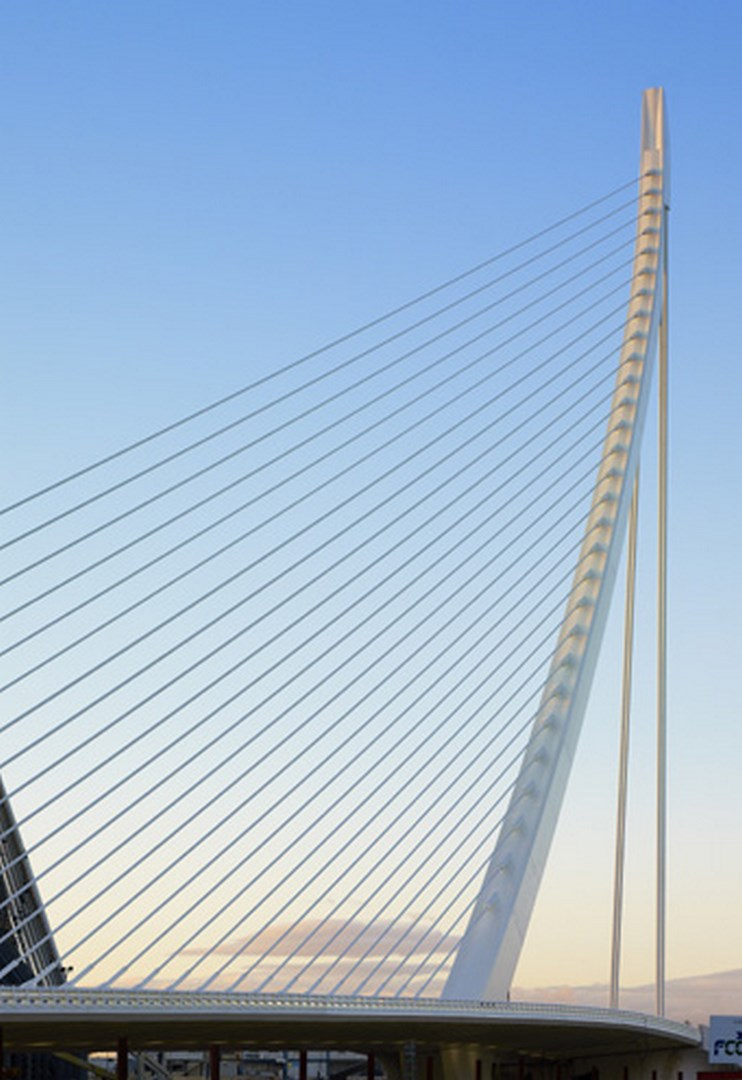 Puente Azud de l´Or (Calatrava)