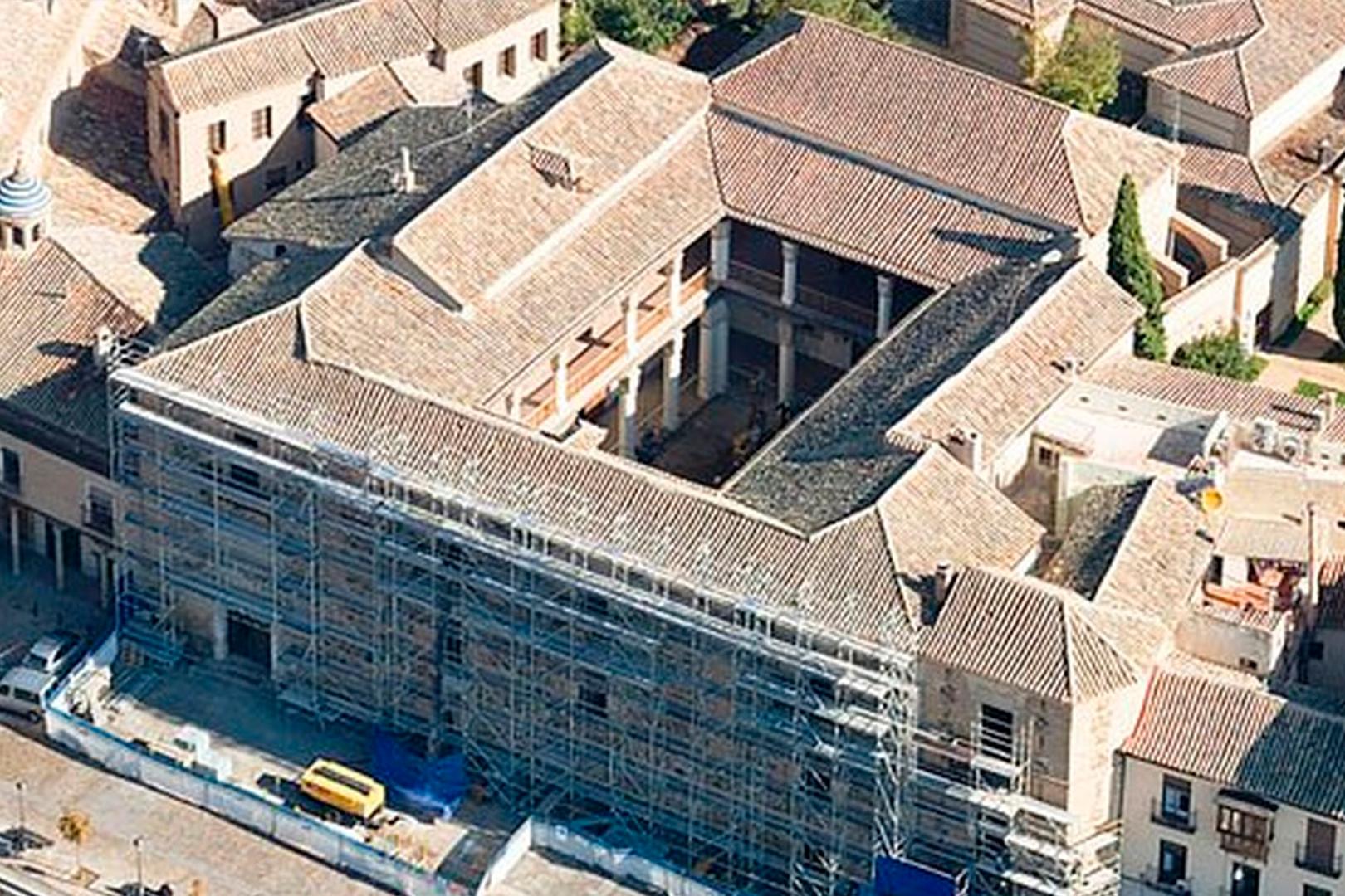 Vista aérea Palacio Fuensalida