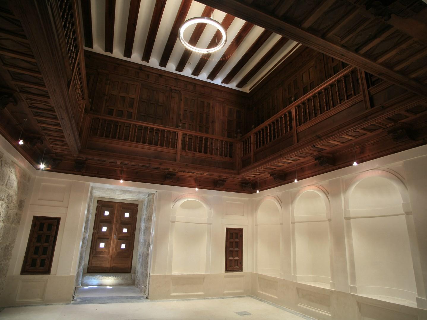SIMANCAS sala interior artesonado
