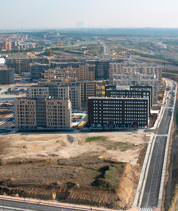 Urban development of the Tres Cantos sector