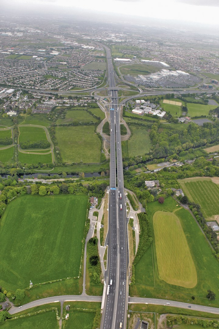 The motorway project includes expansion and new construction