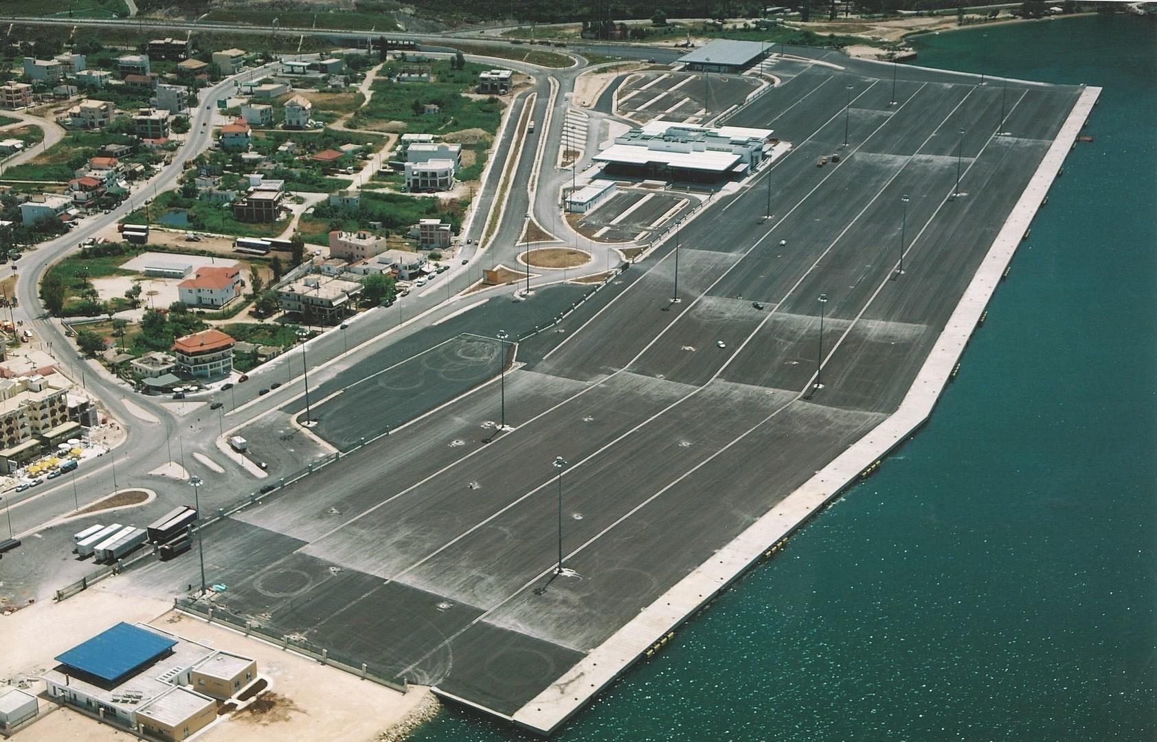 Instalaciones del Puerto de Igoumenitsa