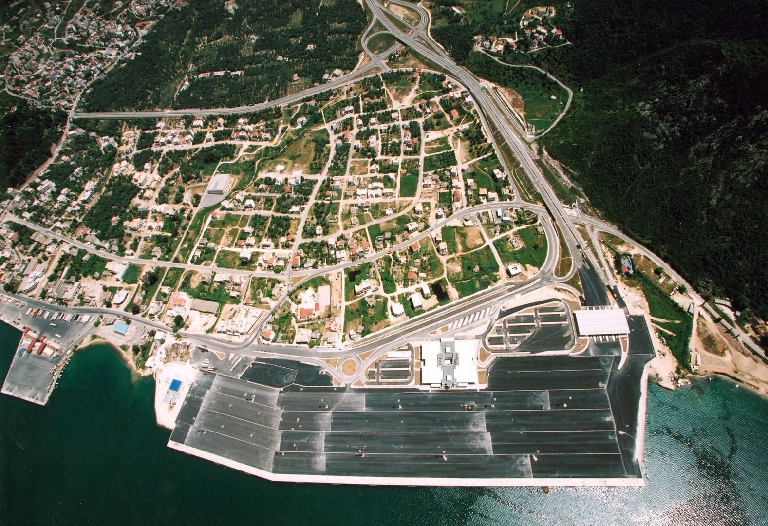 Vista aérea Puerto de Igoumenitsa