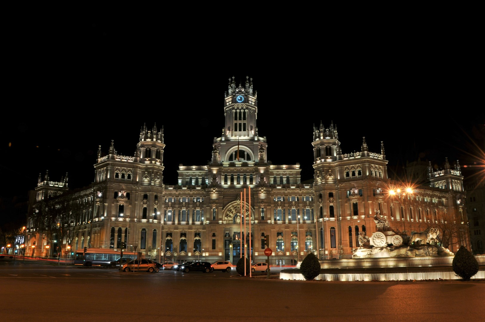 The Palace by night