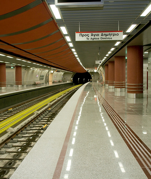 Line 2 of the Athens Metro