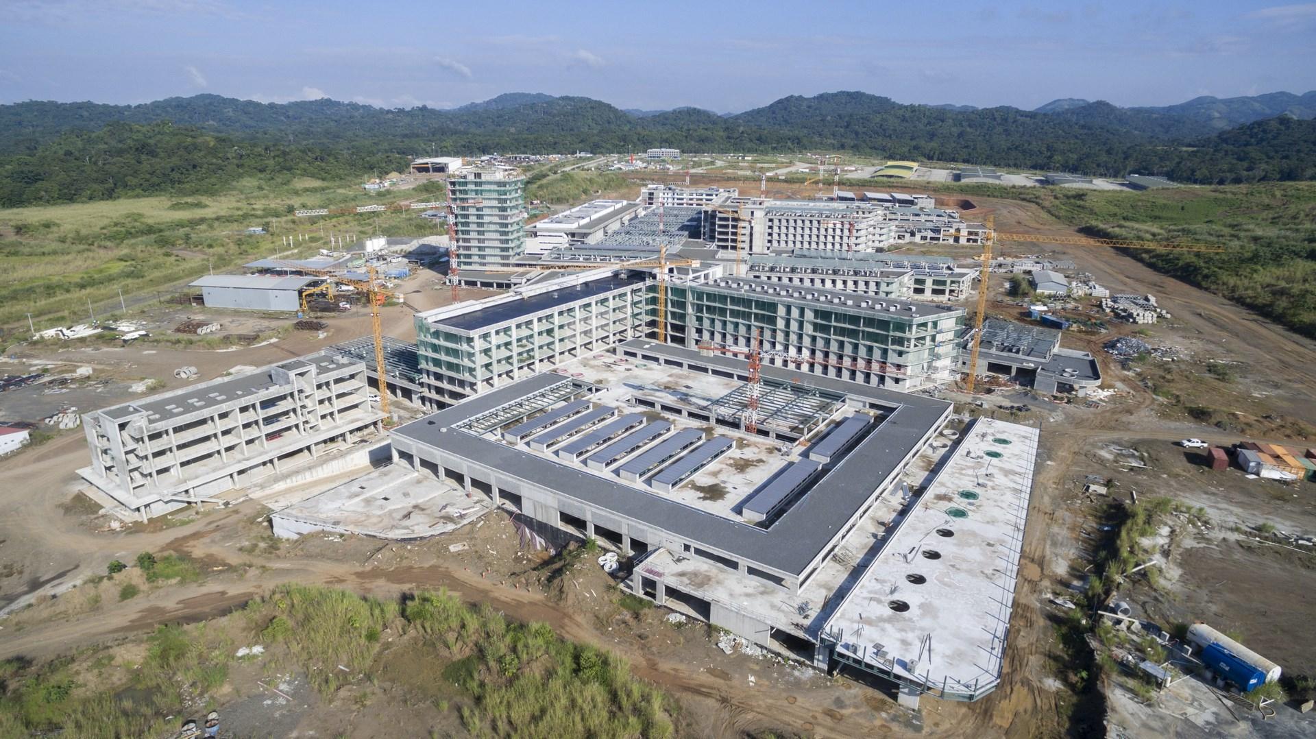 The Caja de Seguro Social Hospital City