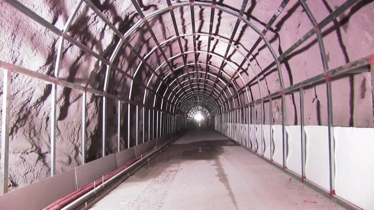 Construction of El Sinaloense Tunnel