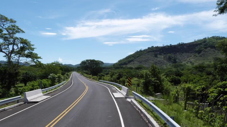 Tramo 5: tiene una longitud de 34,21 kilómetros e inicia en la margen oriental del río Lempa hasta interceptar la calle que conduce a Carolina desde Chapeltique.