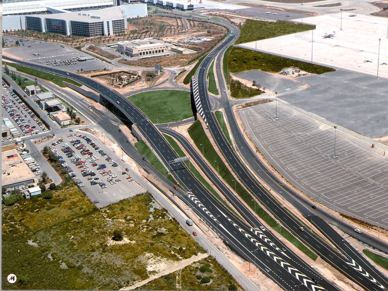 Accesos aeropuerto Palma Mallorca