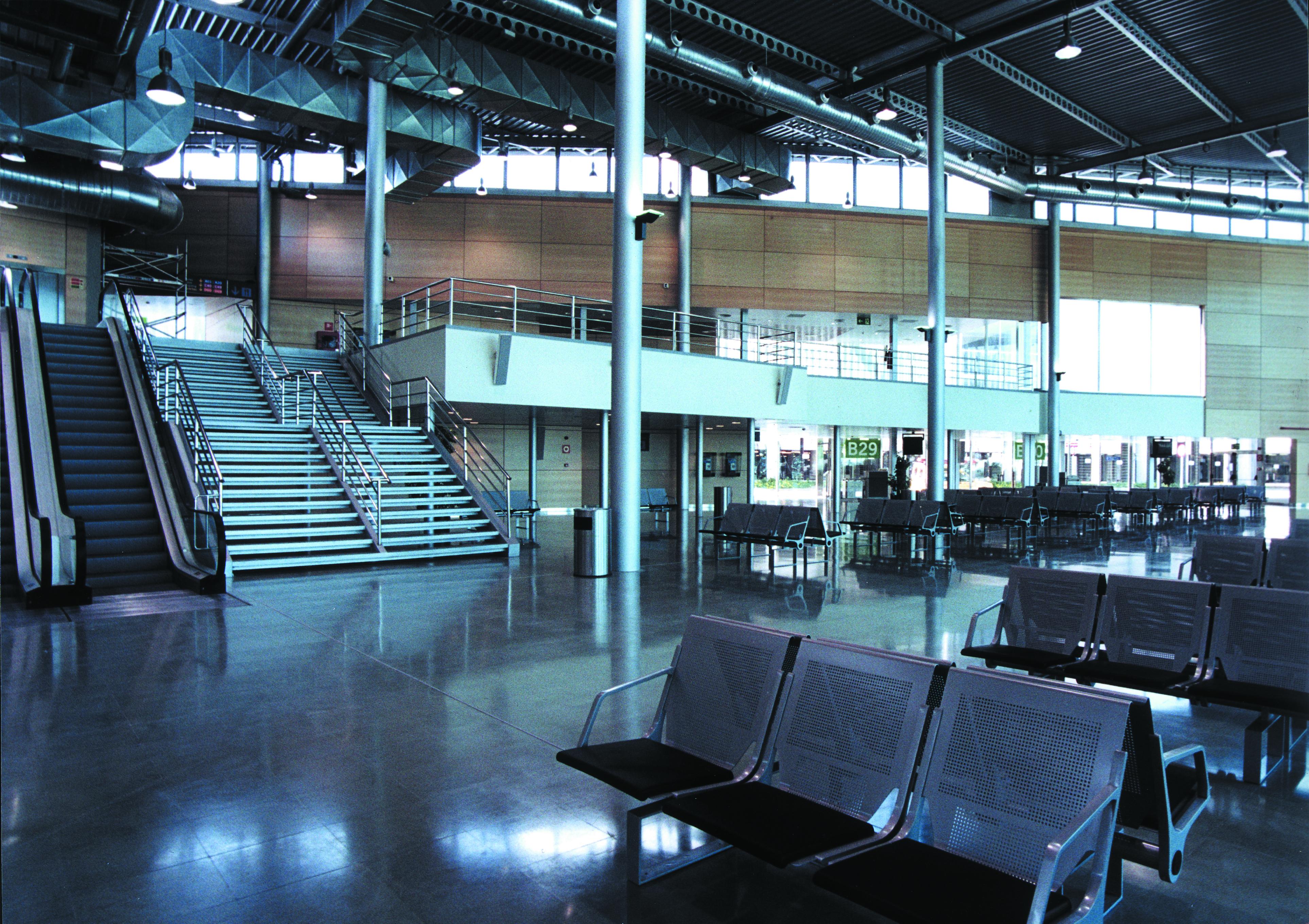 Interior aeropuerto Palma Mallorca