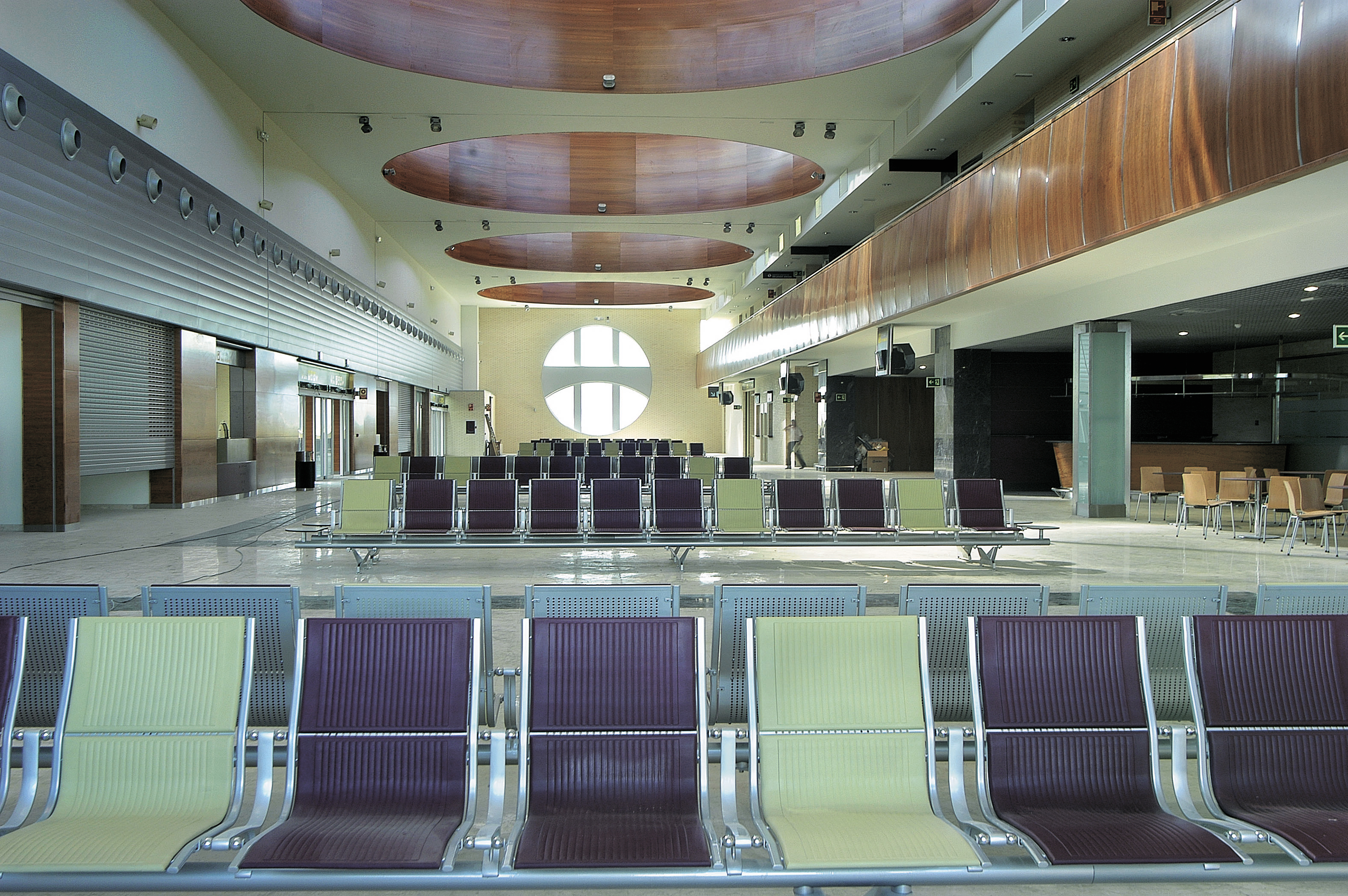 Aeropuerto Logroño interiores