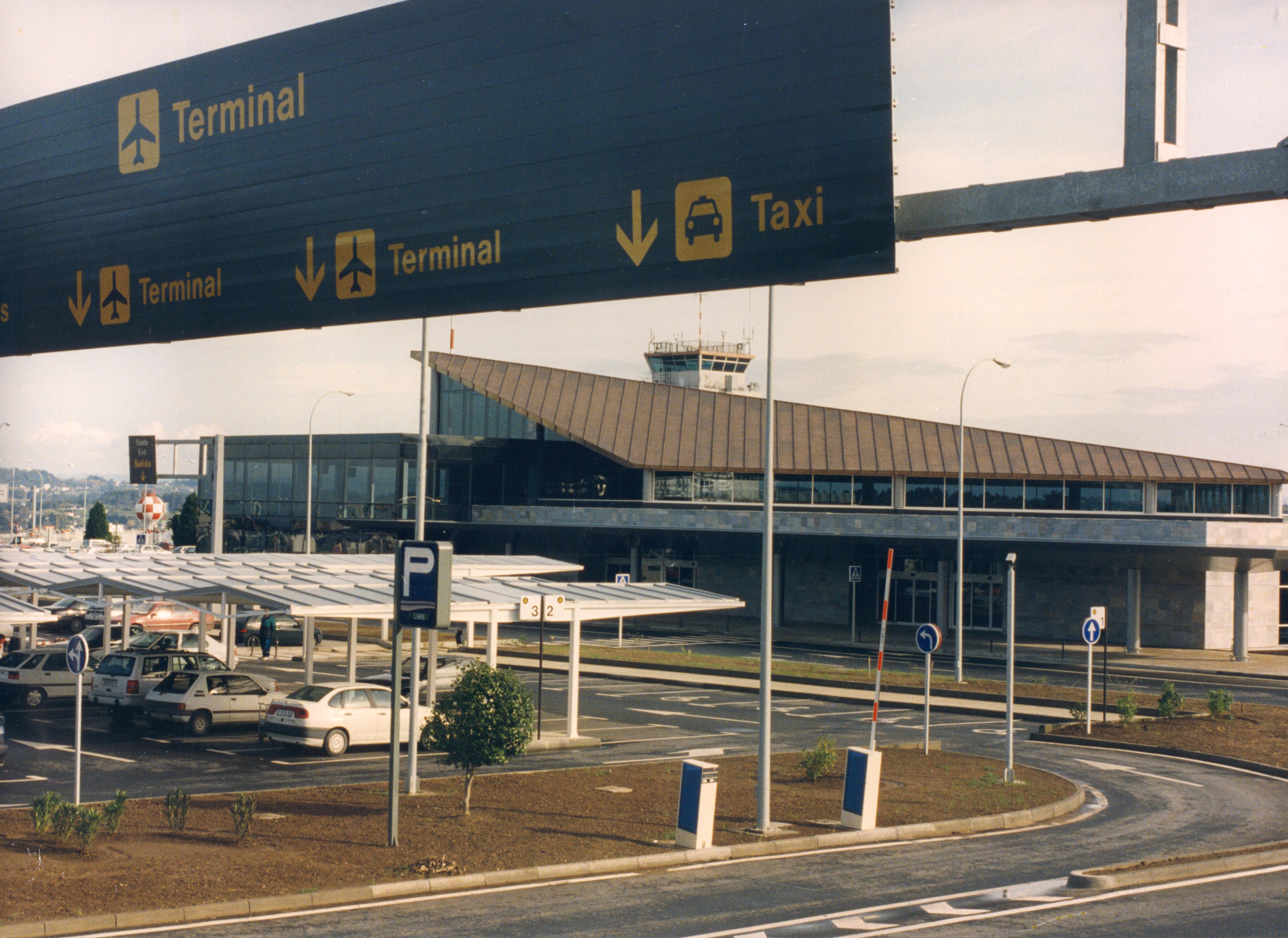 terminales aeropuerto la Coruña