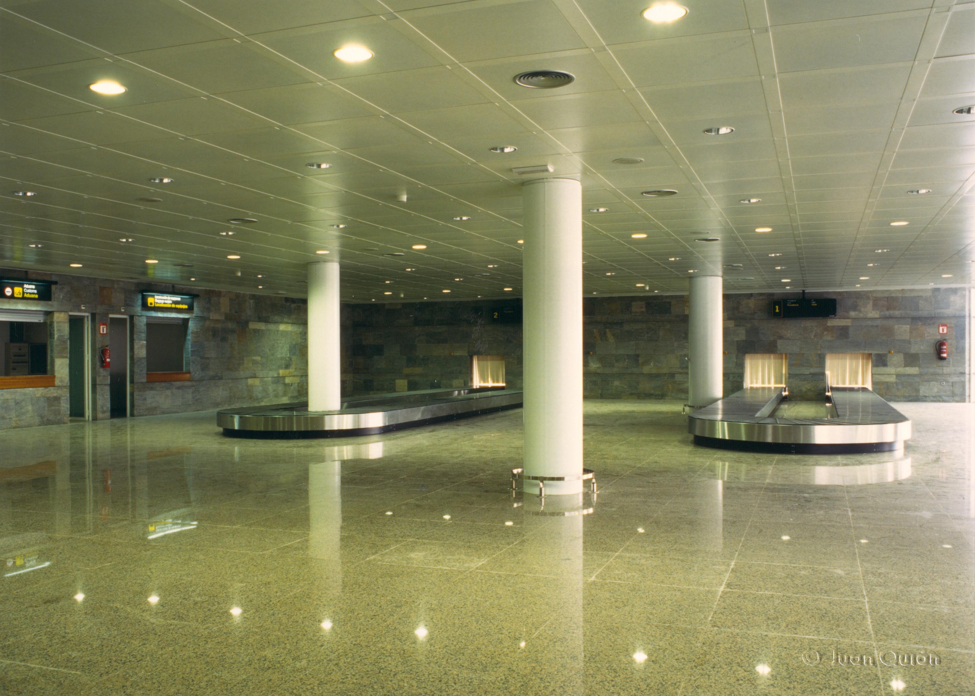 cintas aeropuerto la Coruña