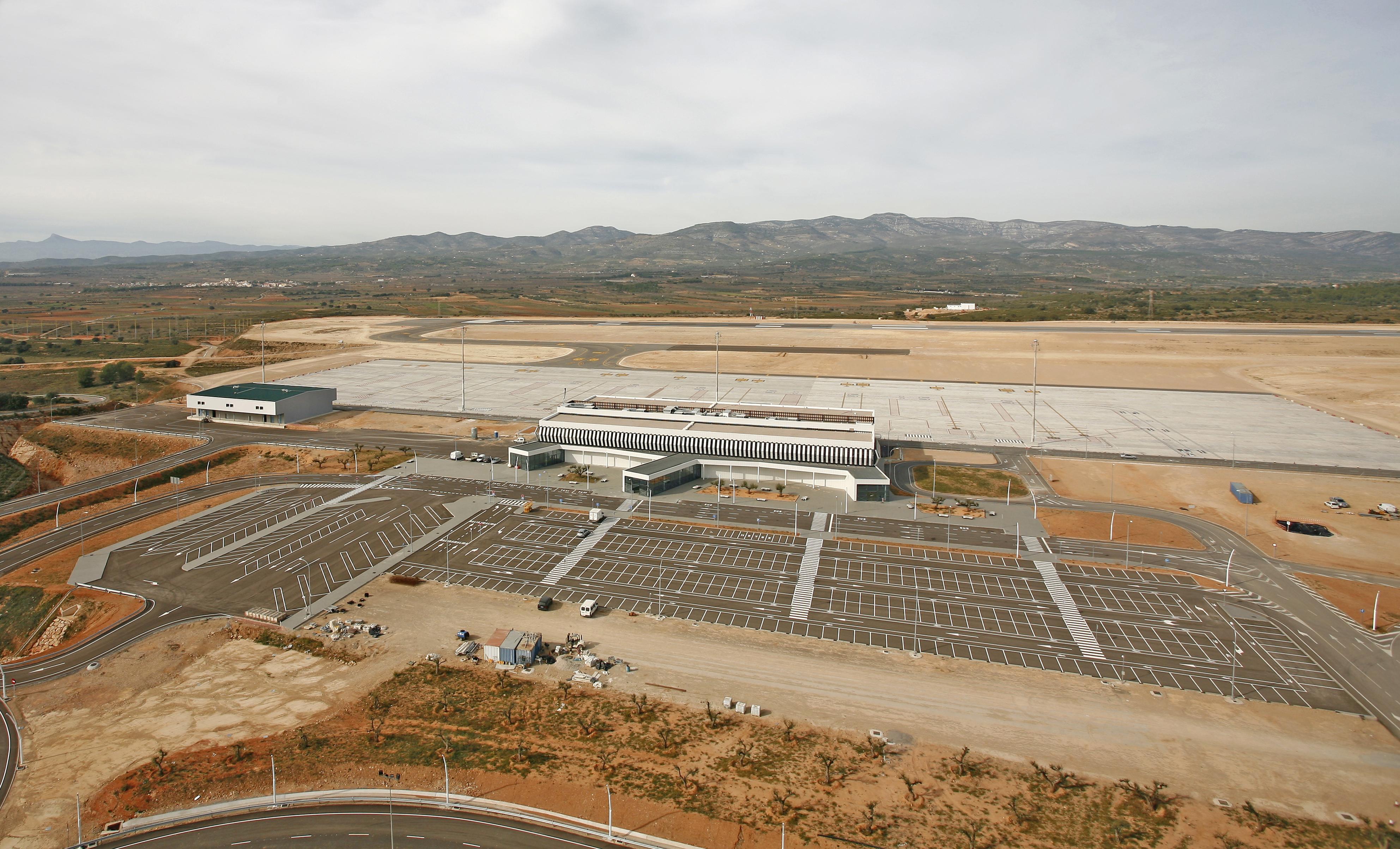 Vista aerea Aeropuerto Castellón