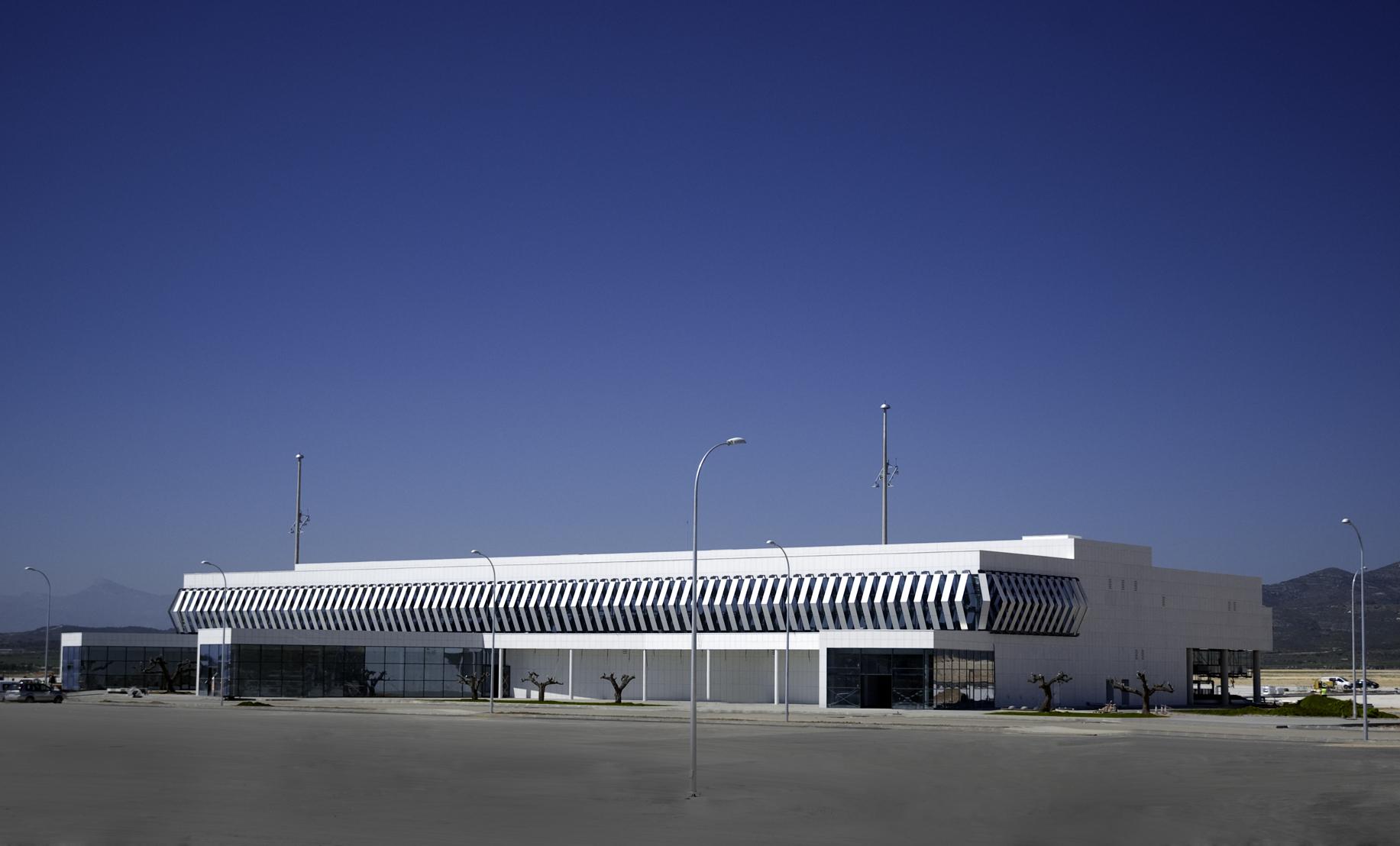 Aeropuerto Castellón edificio