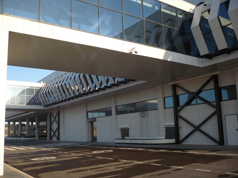 Aeropuerto Castellón pasarela