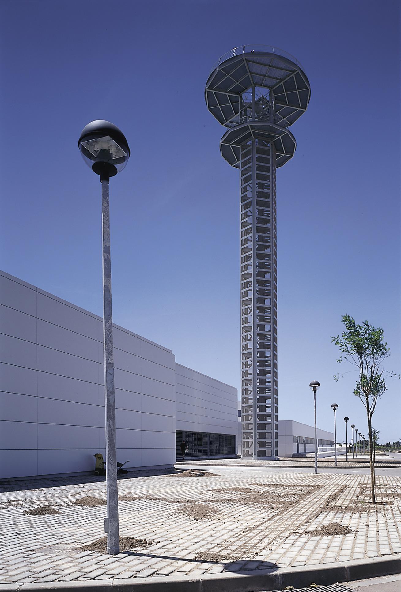 torre centro control aéreo Gavá