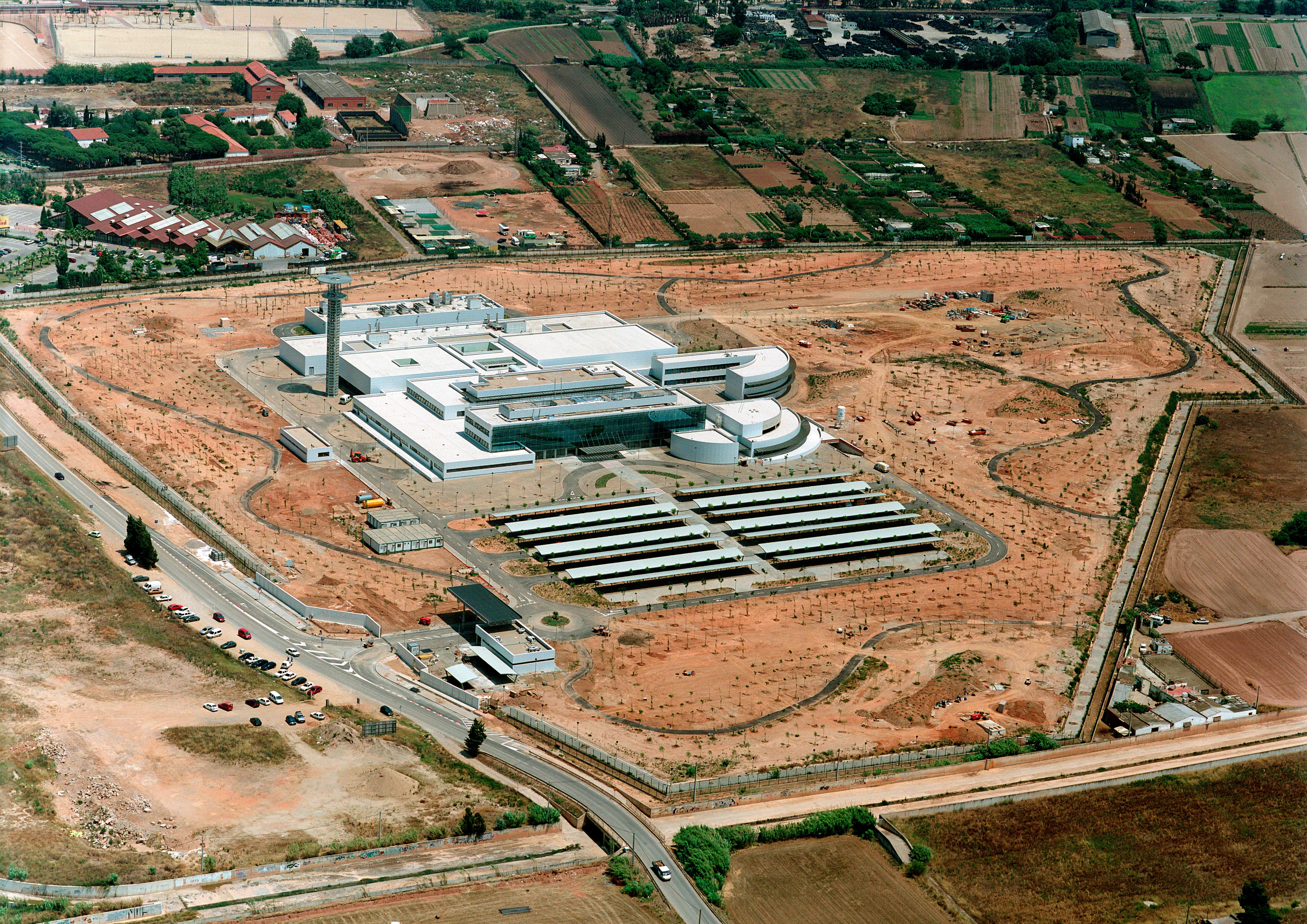 centro control aéreo Gavá