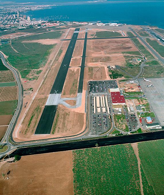 airport San Javier Murcia