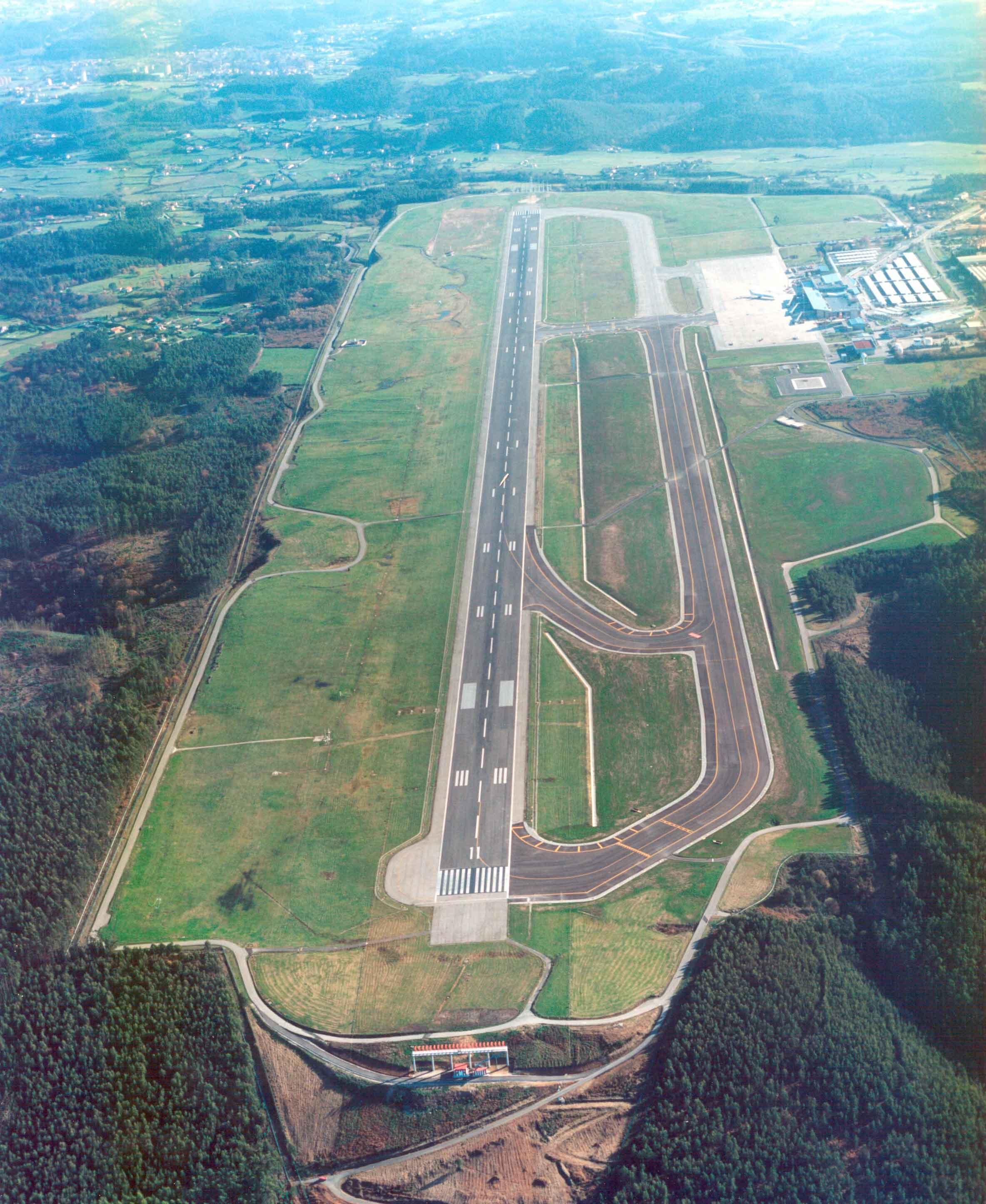 Aeropuerto Asturias Rodadura