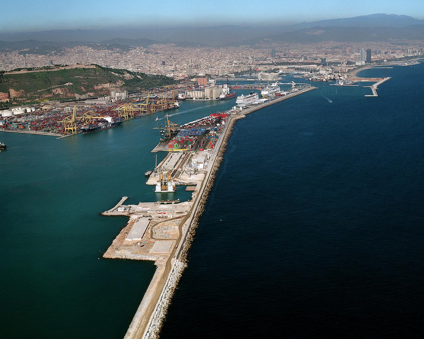 Dique Este puerto Barcelona