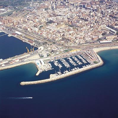 vista aerea Port Adriano Islas Baleares