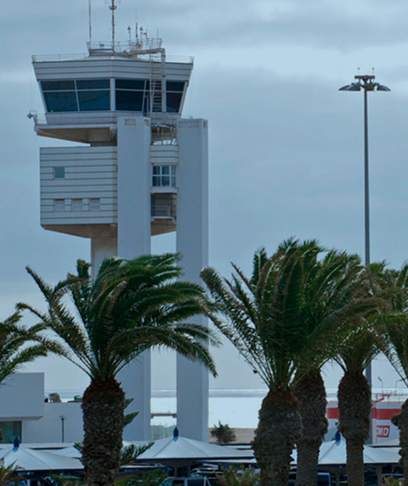 Lanzarote Airport Control Tower